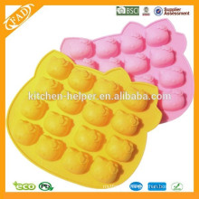 Silicone cake mold chocolate lollipop candy 4 block mould silicone Chocolate Mold