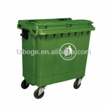 plastic dustbin/garbage can mould