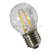1.5W G45 COB LED Bombilla de filamento