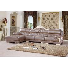 Meubles de maison, meubles de salon, Sofa de cuir (SA28)