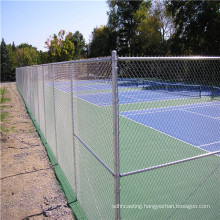Galvanized or PVC coated or Powder coated Chain Link wire mesh Fence Supplied by factory