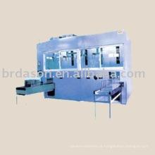 máquina automática do cleanig do ultrasonci para as peças ópticas