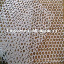 Maille en plastique pour la coopération de poulailler, petit pain blanc en plastique de maille, maille en plastique de barrière
