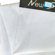 China factory nonwoven interlining 100% Polyester adhesive nonwoven