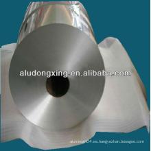 Envase de comida papel de aluminio