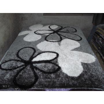 Kleine Blume Seide Teppich