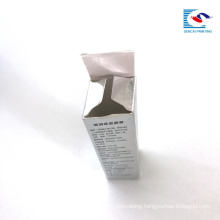 custom printed take away small lipstick paper box glossing