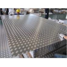 Aluminum Tread Plate for Flooring&Aluminum Checkered Plate (small 5-bar, bright)