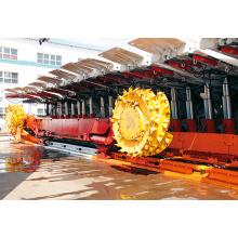 Sistema hidráulico de maquinaria de construção