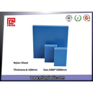 Folha de nylon expulsando do nylon da placa do plástico PA66 do preço de fábrica