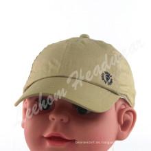 Peinado algodón bebé niños Cap