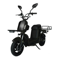 60V 20Ah Electric Scooter for Cargo Delivery Cargo Escooter Cargo Ebike