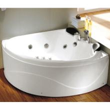 Два человека ванны небольших размеров 1300X1300mm массажные ванны треугольник