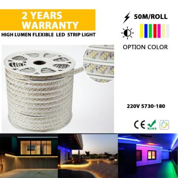 Luz de cuerda flexible LED de brillo