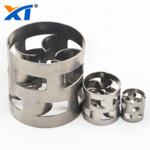 metal tower packing stainless steel pall ring as catalyst bed in industrial adsorption column