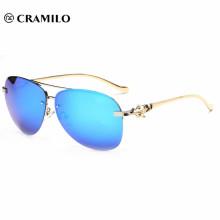 cheap blue rimless mirror sunglasses,custom sunglass lenses mirrored