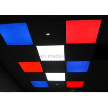 Nuevo Slim 60X60 2835 RGBW plana Dimmable pared LED techo cuadrado de luz