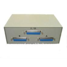 Interruptor DB25 2Port de Datos (6039) o el adaptador de puerto paralelo de impresora paralelo