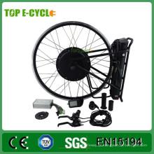 Einfach Montieren Sie Hinten / Vorne Fahrrad CE Zertifizierung Motor Fahrrad 36 v 48 v 500 watt 1000 watt e-bike kit mit batterie