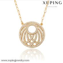 42887 Xuping moda charme jóias banhado a ouro pingente como presentes