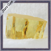Materia prima de la piedra preciosa de Zirconia cúbico sintético