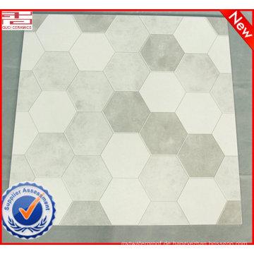 China Lieferant bieten gute Qualität günstigen Preis grau und weißer Bodenfliesen und als Baumaterial rustikalen Bodenfliesen