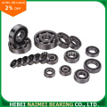 6001-2RS 6001-ZZ Bearing Ball Groove dalam