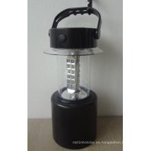 Luz solar portátil de la lámpara de la linterna del LED con altura ajustable