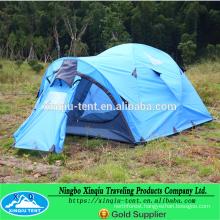 Aluminium pole good quality 3-4 man family tent