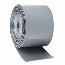 Manchon rapide gris d'enveloppe de rétrécissement de la chaleur de rétrécissement de motif blanc gris pour la barre