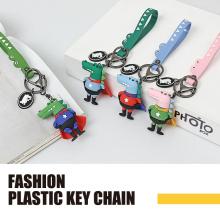 Porte-clés mode PVC Croc Man