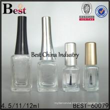 nail polish bottles empty wholesale, 4.5ml 11ml 12ml, custom nail polish bottle, supply printing service