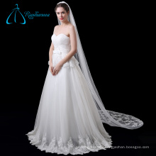 Cathedral Bridal Accessories Tulle Long Lace Wedding Veil