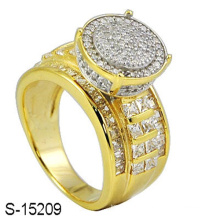 Bague à diamants en argent sterling 925