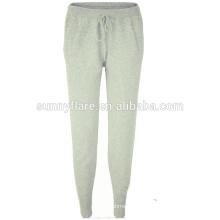 Fabricante Moda Slim Leg Knitted Cashmere Pants