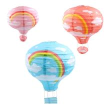 Rainbow light shade Hot Air Balloon