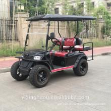 Carrinho de golfe elétrico de 4 lugares / carrinho de golfe elétrico de zona