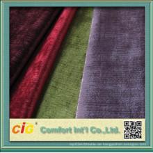 100% Polyester Gute Qualität Klassische Chenille Sofa Stoff