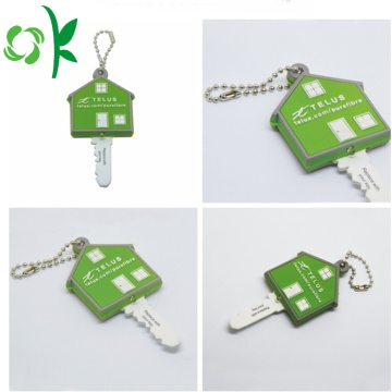 Mode Custom House Shaped Silicone Key Cover
