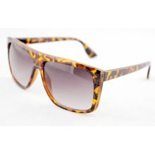 Leopard Fashion UV Protected Logo Индивидуальные солнцезащитные очки (14195)
