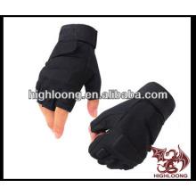 Черная теплая и удобная велосипедная перчатка
