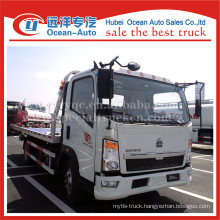 SINOTRUK HOWO 4X2 4ton pulling weight tow truck dimensions