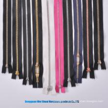 3 # 4 # 5 # 7 # 8 # Metal Latão Corrente Larga Zippers