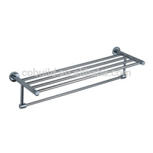 Bathroom Accessory 304 Stainless Steel Double Towel Shelf, Double Towel Rack CX-305