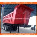 Heavy Duty Tri-Axle 50ton Dumper/End Tipper Truck Trailer