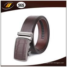 Famoso marca de cuero auténtico cinturón hebilla para hombres