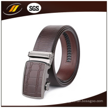 Famous Brand Genuine Leather Auto Buckle Belt for Men