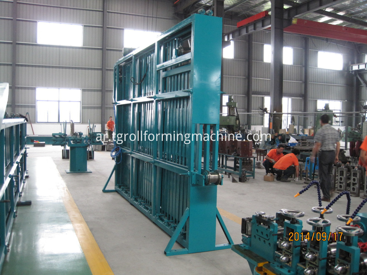 Hf Welding Tube Machine