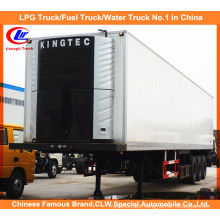Thermo King Refrigerated Trailers Heavy Duty Tri Axle 45ft Refrigerated Van Semi Trailer