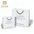 Низкая Цена Ручка Тесемки Белого Подарка Несущей На Заказ Дизайн Логотипа Печать Роскошная Бумажная Хозяйственная Сумка